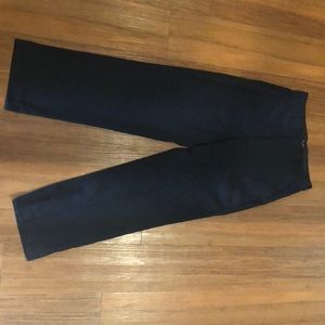 Calvin Klein woman's high waisted suit pants